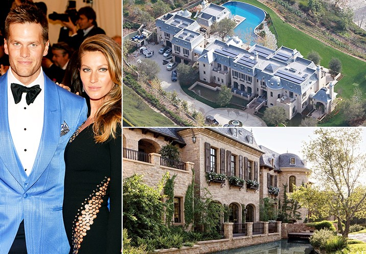 Gisele Bündchen And Tom Brady 20 Million California