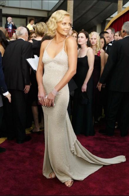 Celebrity revealing red carpet dresses