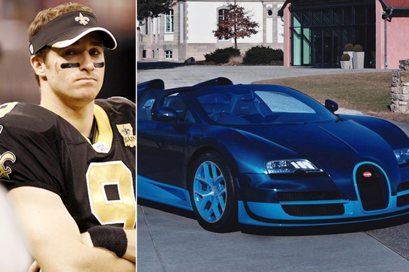 Drew Brees – Bugatti Veyron Estimated 2.2 Million