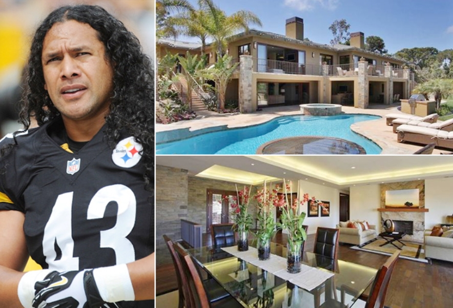 Troy Polamalu – La Jolla Estimated 4.7 Million