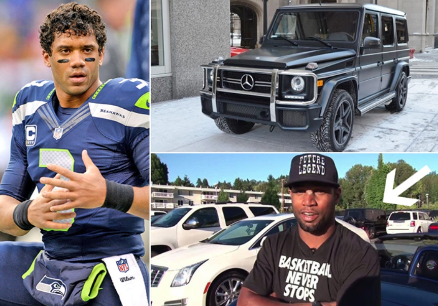Russell Wilson – Mercedez Benz G Class Estimated 135K
