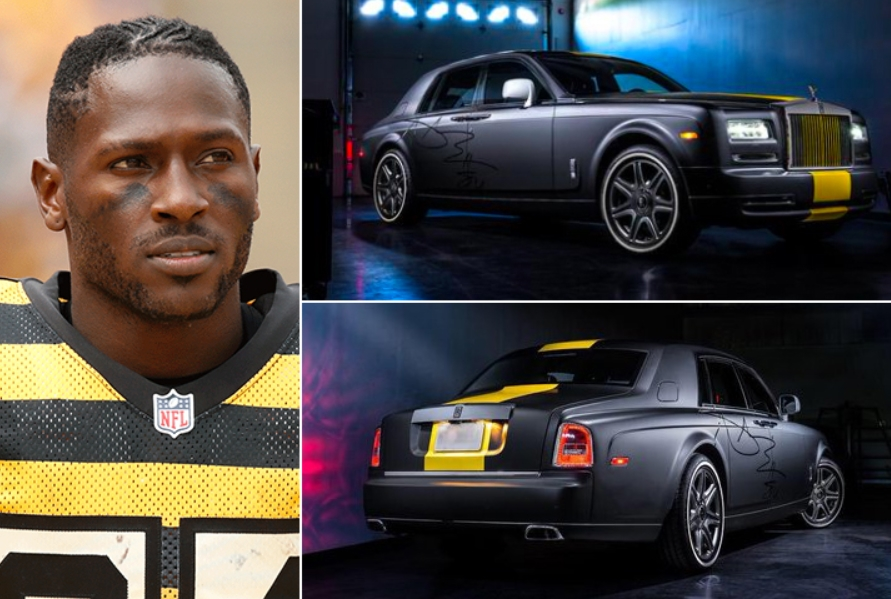 Antonio Brown – Rolls Royce Phantom Estimated 500K