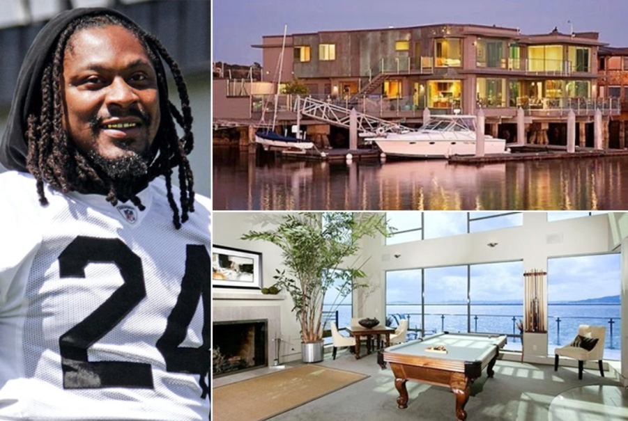 Marshawn Lynch House >> NFL Players' Incredible Cars & Houses - That's Expensive