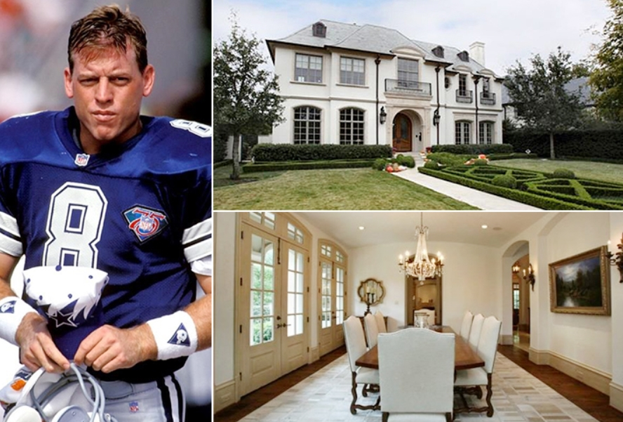 Troy Aikman – Texas Estimated 5.5 Million