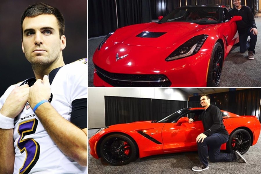 Joe Flacco – Corvette Stingray Estimated 70K