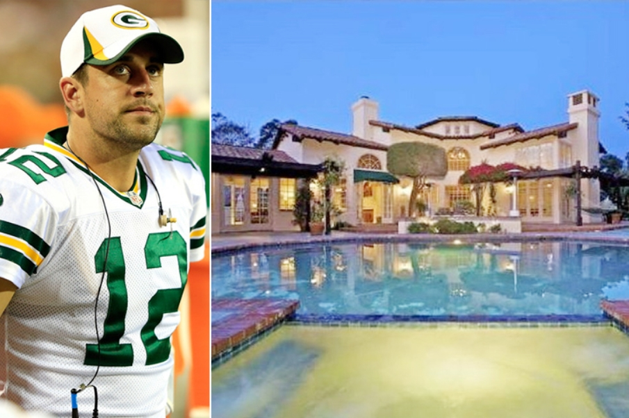 Aaron Rodgers – California Estimated 8 Million